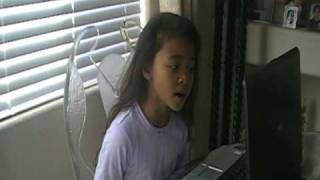"Talented Singer 8 Yr Old Ciana Singing ""If I Were A Boy"