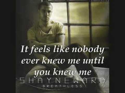 Shayne Ward - Until You [video lyircs]