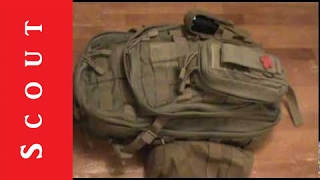 5.11 Moab 10 EDC Or Bug Out Bag Review Scout Tactical