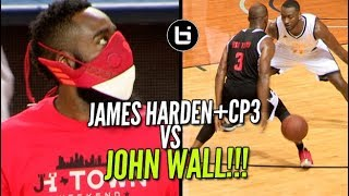 James Harden+CP3 VS John Wall!  JH-Town Weekend Charity Game!