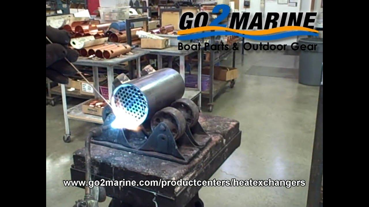 Marine Heat Exchangers Amp Oil Coolers Youtube