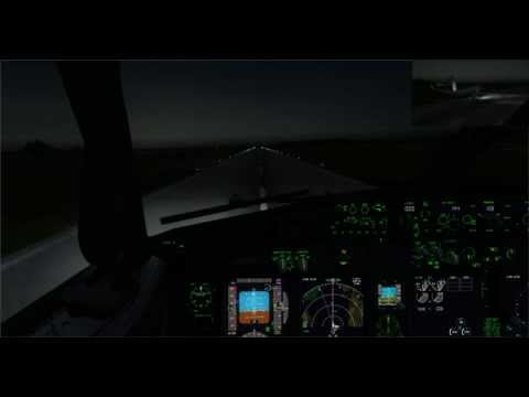 Royal Air Maroc B738 NGX Approach In Nador El Arou