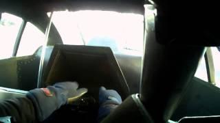 Mark Sheehan 4.87 on-board Nitro Funny Car pass -v- Anthony Begley 5.15