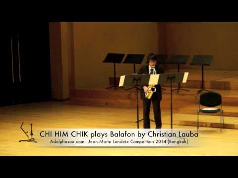 CHI HIM CHIK plays Balafon by Christian Lauba