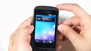Alcatel One Touch 918D - appearance, menu - part 1