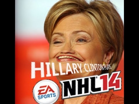 Alex Calls: Hillary Clinton Plays NHL14