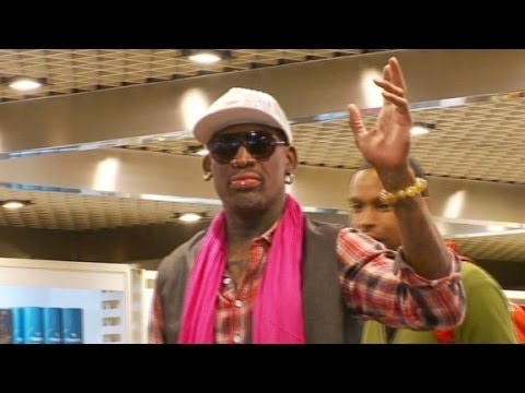 Dennis Rodman leaves for North Korea