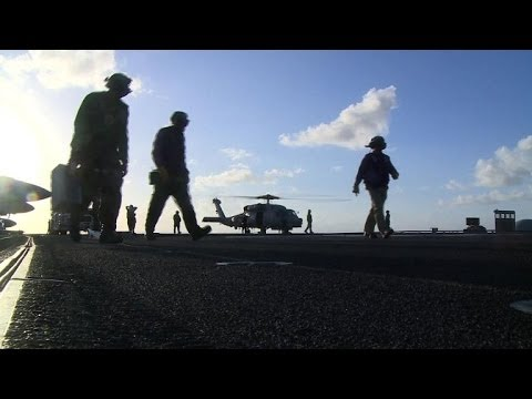 US carrier spearheads relief effort in Philippines