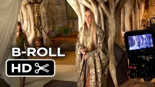 The Hobbit: The Desolation Of Smaug COMPLETE B-ROLL (2013