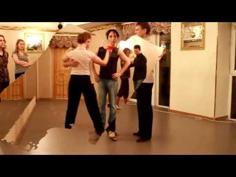 """Видео """"Обучение Аргентинскому танго"""" с Юрием Буреневым и Любовью Нормаматовой"""