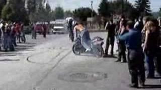 ACIDENTE DE MOTO R1 E CBR