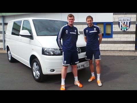 West Bromwich Albion Goal Challenge in association with Volkswagen Van Centre Birmingham