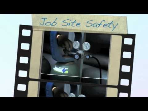 Compressed Gas Cylinder Safety Training Video from Air Liquide
