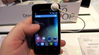 Alcatel One Touch S'Pop Hands-on