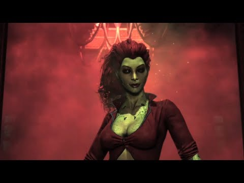 Batman: Arkham Asylum &quot;Poison Ivy&quot; Trailer -Xvtx0_ZW0rY