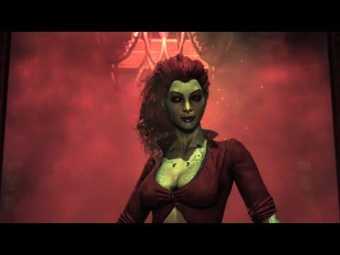 "Batman: Arkham Asylum ""Poison Ivy"" Trailer -Xvtx0_ZW0rY"