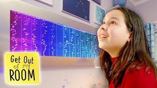 Teen Gets An UNDERWATER DISCO In Her Bedroom! | Get Out Of My Room | Universal Kids