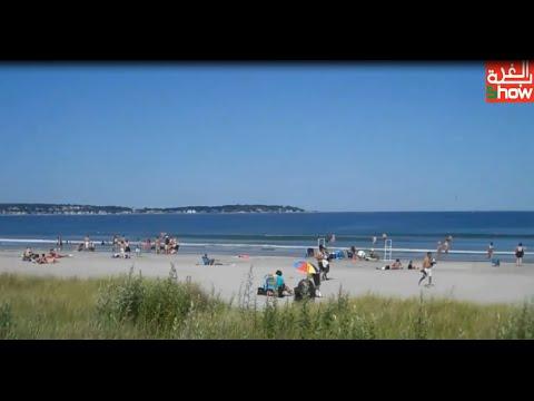 أجواء شاطئ أمريكي