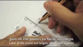 Mathematics Lesson: Constructing Triangles (Set 1)