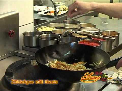 Zöldséges sült tészta recept