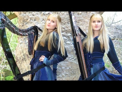 NIGHTWISH - Nemo (Harp Twins) Camille and Kennerly‬‬‬‬‬‬‬‬‬‬‬