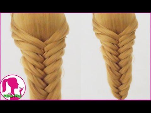 Hairstyles - Hướng Dẫn Cách Tết Tóc Kiểu Xương Cá Đơn Giản Đi Dự Tiệc