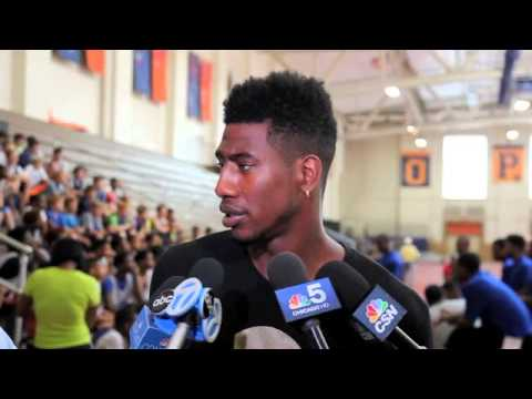 New York Knicks guard Iman Shumpert returns to Oak Park-River Forest to host camp
