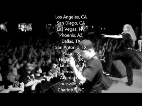 Cerebral Bore Summer Slaughter US tour video