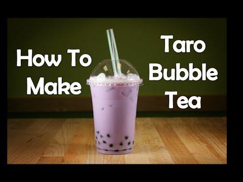 How To Make Taro Bubble Tea