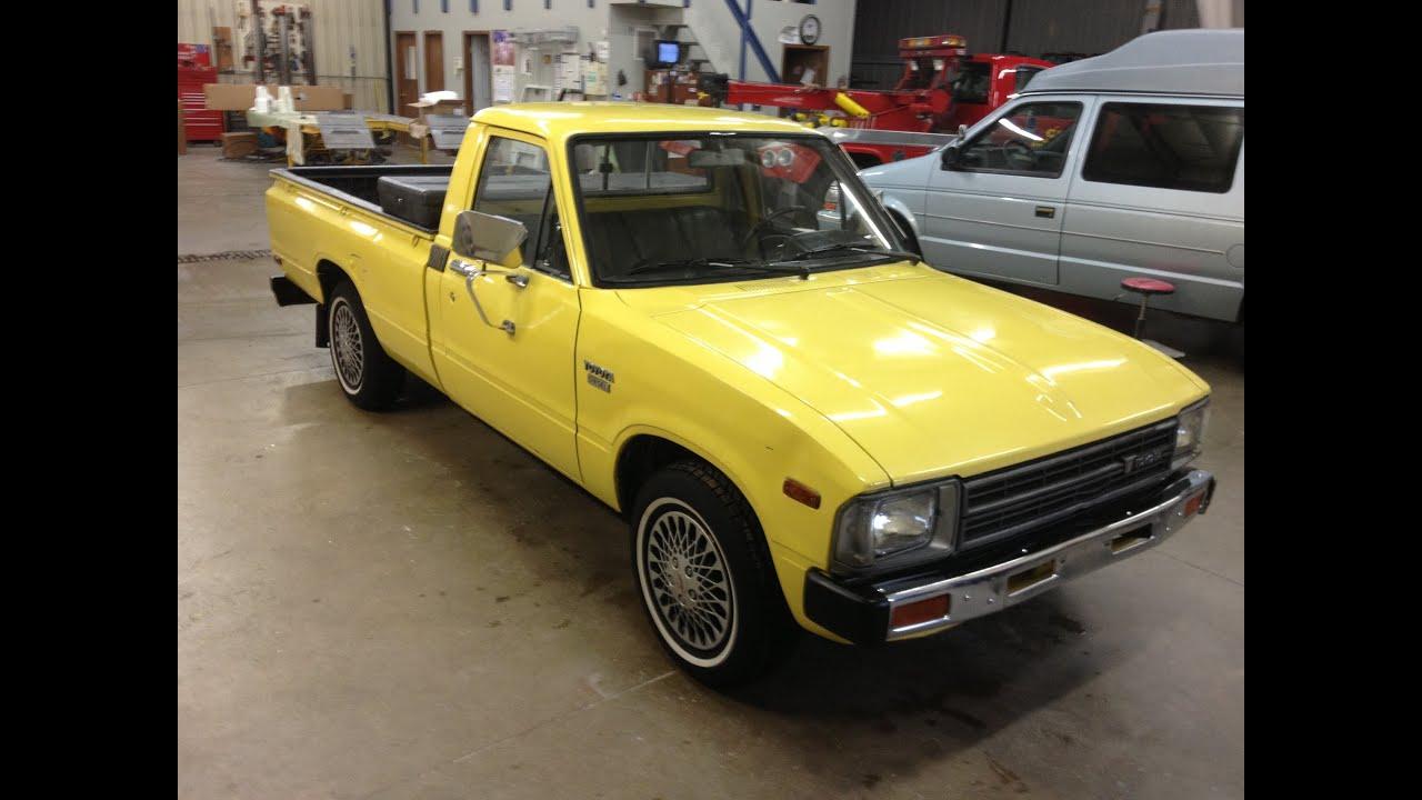 1982 Toyota Diesel Pickup Sold 3500 2013 Youtube