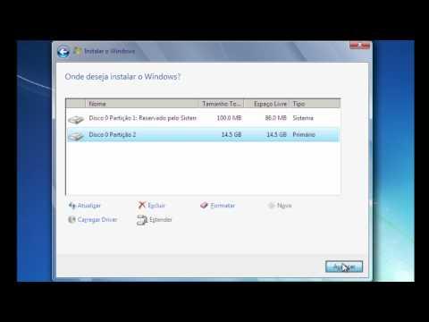 Dicas - Como formatar o computar e instalar o Windows - Baixaki
