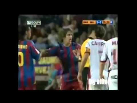 carlos puyol most fair player