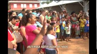 Alterosa no Parque comemora o m�s das crian�as com divers�o
