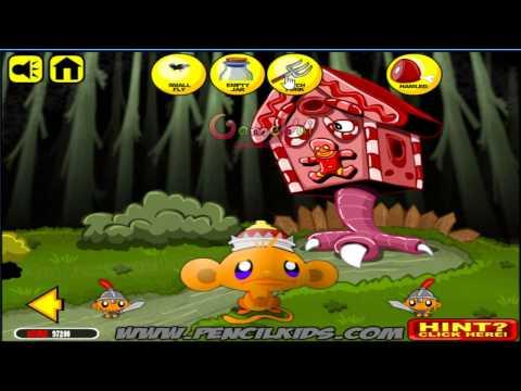 Hướng dẫn chơi game Chú khỉ buồn phiêu lưu - MONKEY GO HAPPY ADVENTURE
