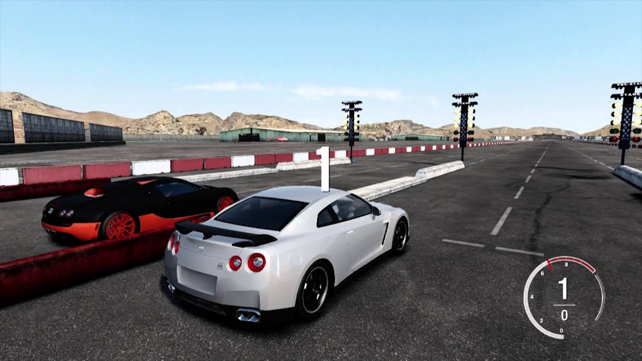 forza 4 nissan gtr vs bugatti veyron ss hd youtube. Black Bedroom Furniture Sets. Home Design Ideas