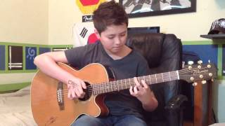 Dark Horse Katy Perry Fingerstyle Guitar Cover