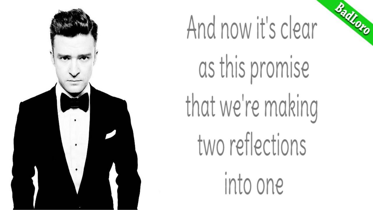 Justin timberlake mirrors hd lyrics youtube for Mirror justin timberlake lyrics