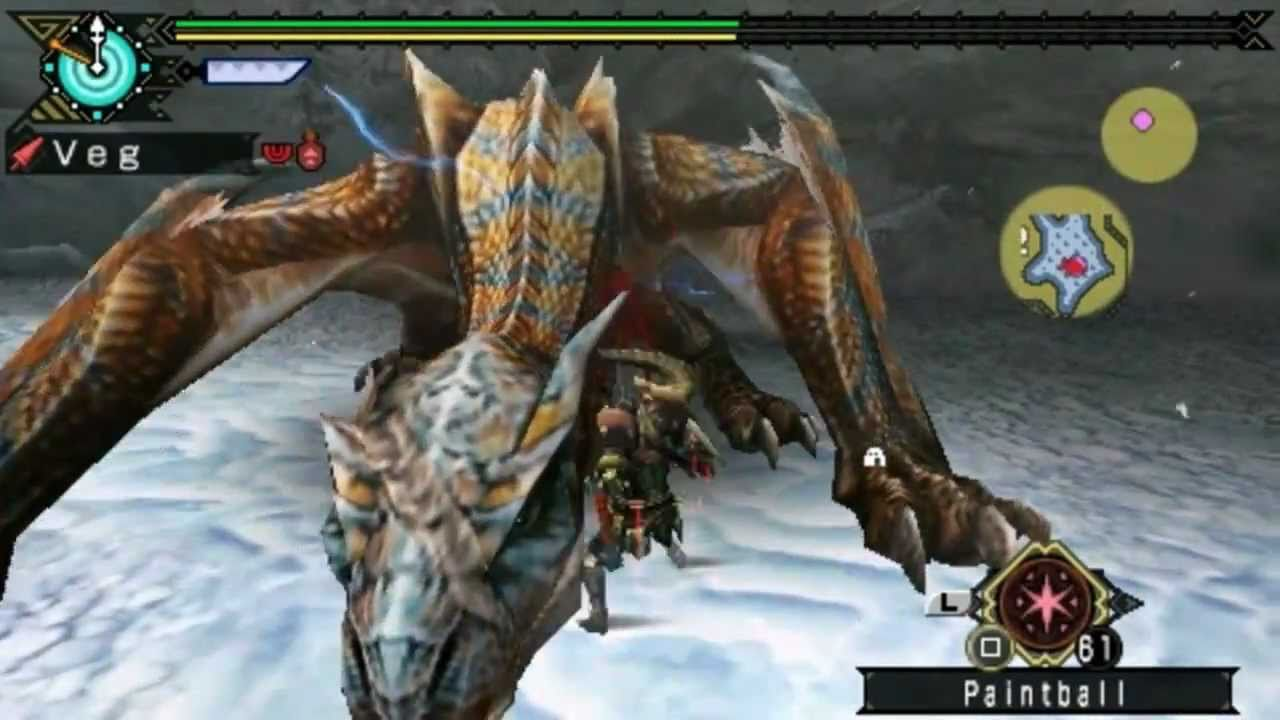 MHFU Tigrex vs. gunlance (sam) - YouTube - tubemate ...