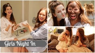 Girls Night In With Tanya Burr | Zoella