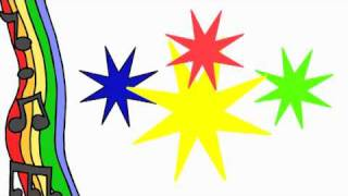 Colour Song For Kids Red, Yellow, Green, Blue, DreamEnglish