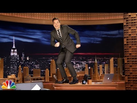 Kid Letters: Tonight Show Desk Dance