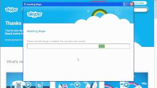 How To Install Skype On Windows XP With Already Created