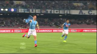 Napoli-Milan 3-0 34a giornata di Serie A TIM 2014/2015 HL (90 sec)