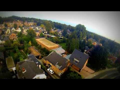 Real Crash DJI Phantom Above Soest, Netherlands