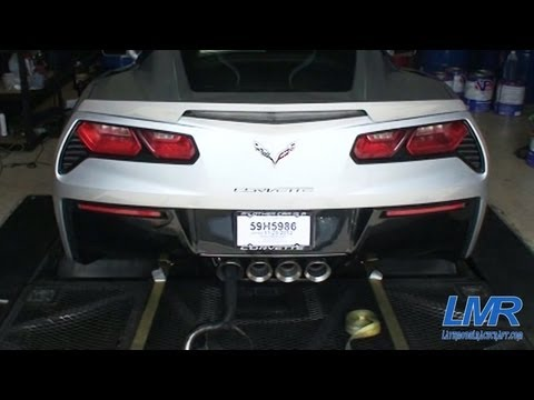 C7 Corvette Stingray Dyno