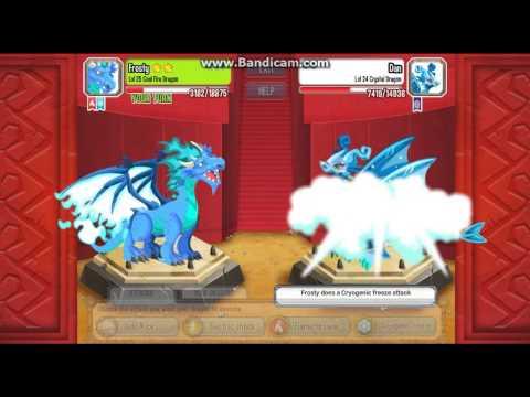 Hình ảnh trong video Dragon City : Cryogenic Freeze Attack