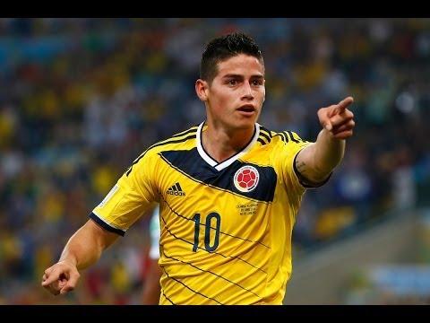 James Rodriguez Considerado Mejor Gol de la Copa del Mundo 2014 - Colombia vs Uruguay 2-0 HD