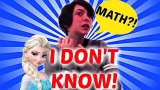 "I Don't Know (""Let It Go"" Math Parody)"
