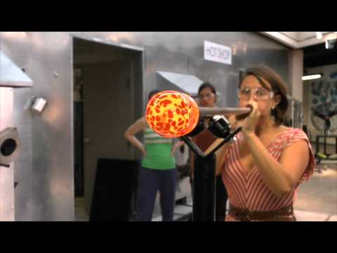 Female Glass Blowers