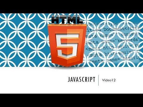 Curso HTML 5. JavaScript Introducción. Vídeo 12 - YouTube